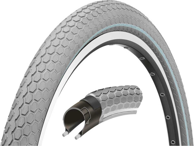 "Continental Ride Cruiser Bike Tyre 28"" E-25 grey"